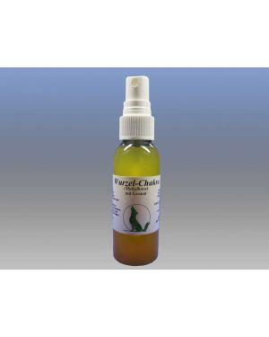 Wurzel-Chakra-Massageöl mit Edelstein Granat, 50 ml Sprühflasche