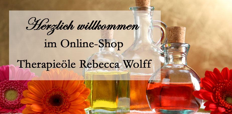 Herzlich willkomen bei Therapieöle Rebecca Wolff